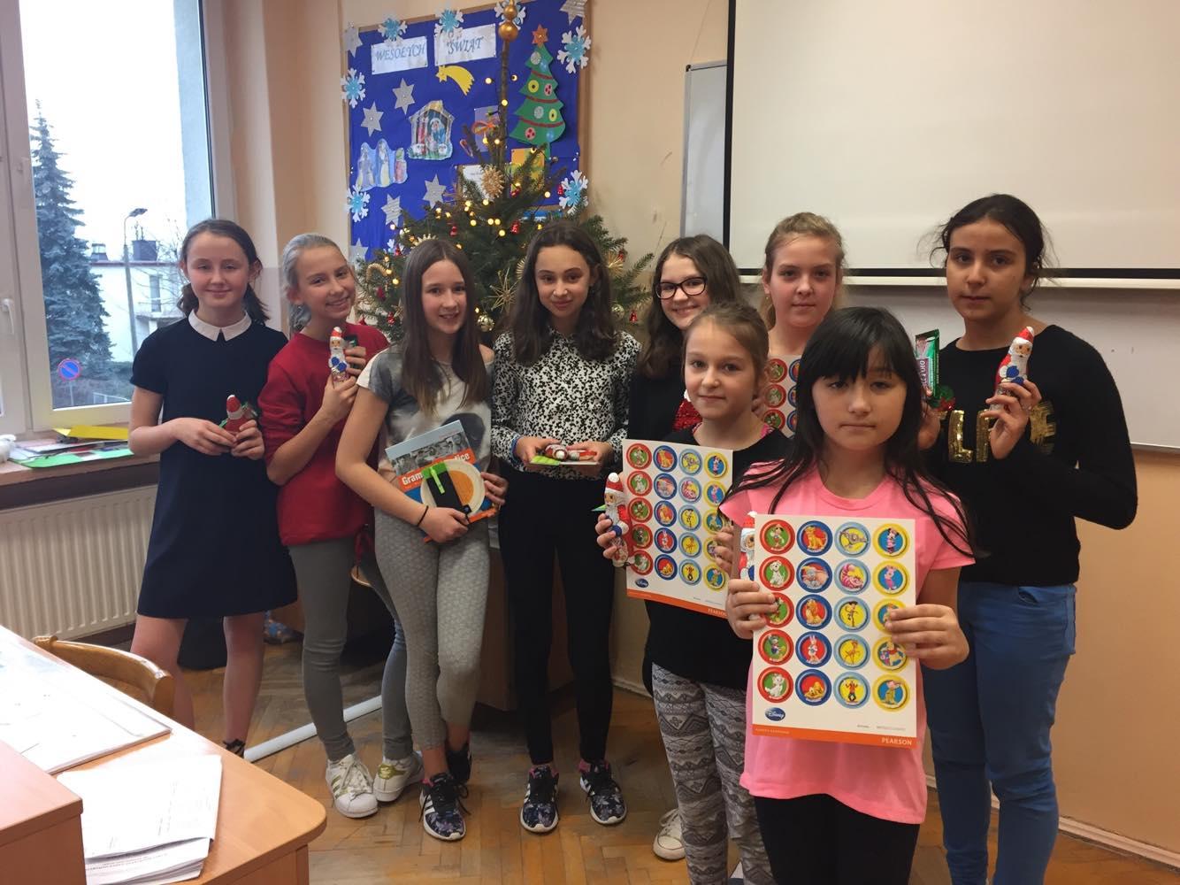 Konkurs Piosenek Świątecznych w Języku Angielskim