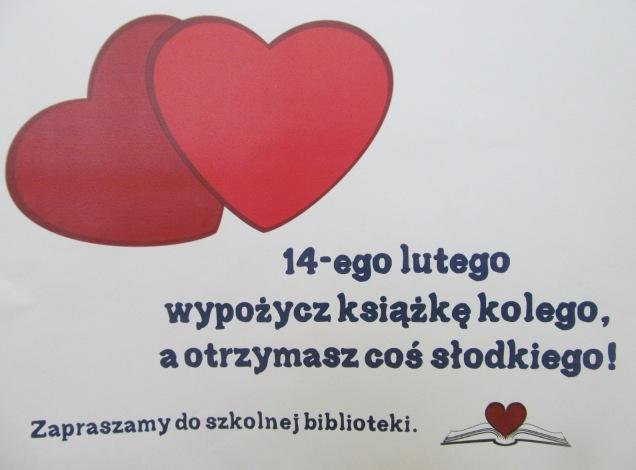 Święto miłości w naszej bibliotece