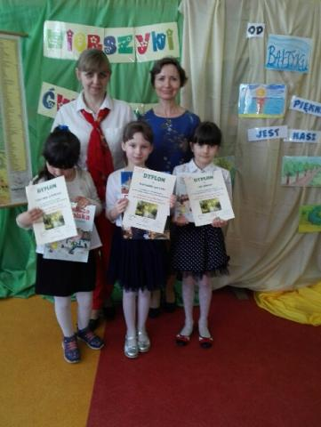 """Międzyszkolny Konkurs Recytatorski """"Wierszyki ćwiczące języki. Od Bałtyku do Tatr. Piękny jest nasz kraj"""""""