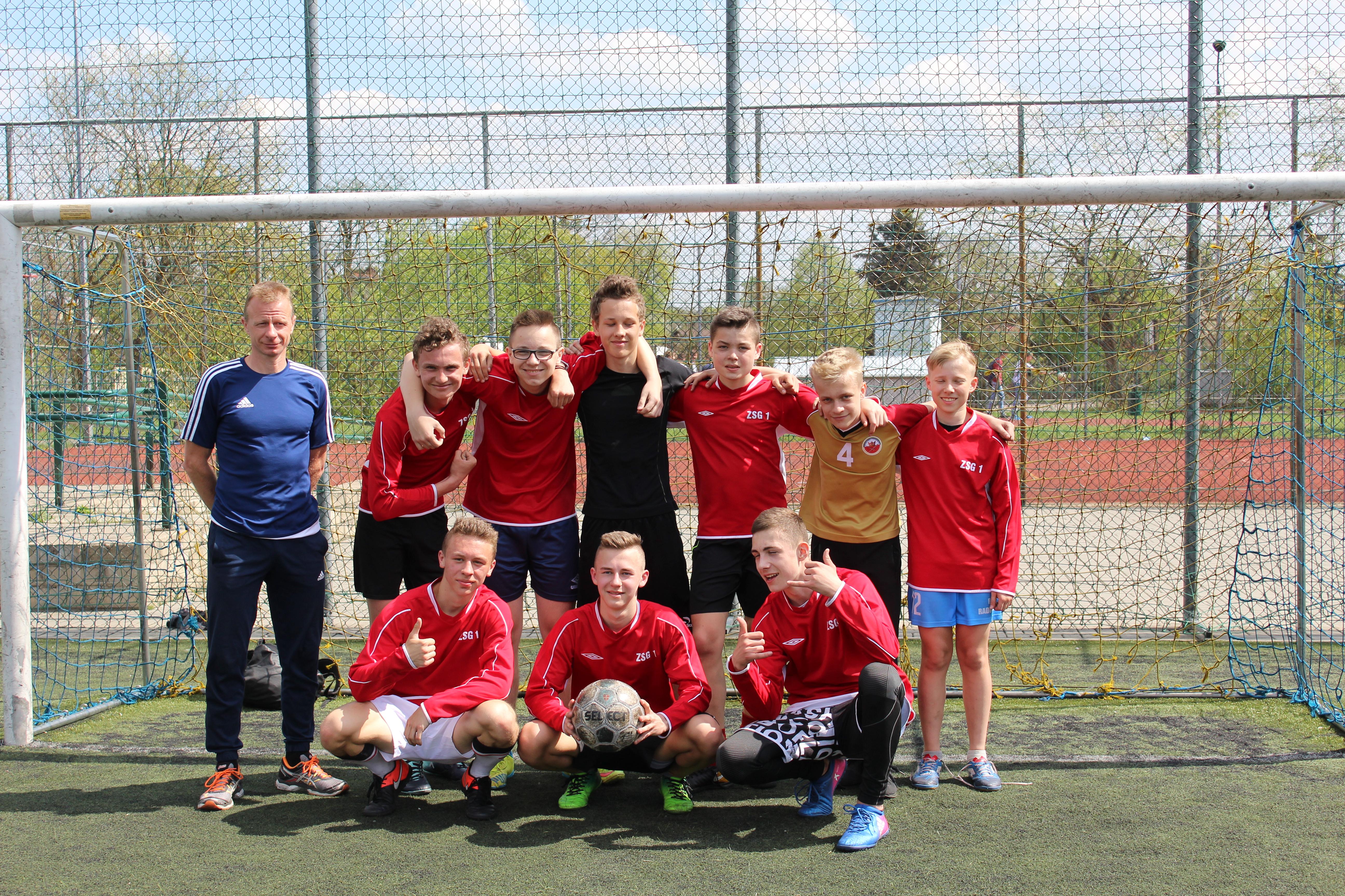Awans naszej reprezentacji do finałów Mistrzostw Powiatu w Piłce nożnej Chłopców